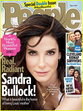 Sandra Bullock: People's World's Most Beautiful Woman 2015!