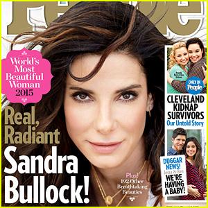 Sandra Bullock Named People's Most Beautiful Woman of 2015!