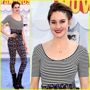 Shailene Woodley WINS Best Female Performance at MTV Movie Awards 2015!
