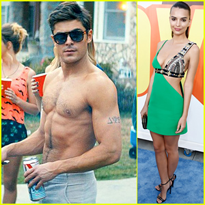 Zac Efron WINS Best Shirtless Performance at MTV Movie Awards 2015!