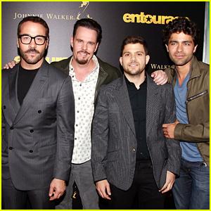 Adrian Grenier & Jeremy Piven Premiere 'Entourage' in NYC
