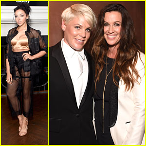 Alanis Morissette Performs At Elle's Women In Music Event with Tinashe