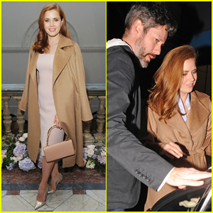 Amy Adams & Husband Darren Le Gallo Step Out For First Time After Small Wedding Ceremony!