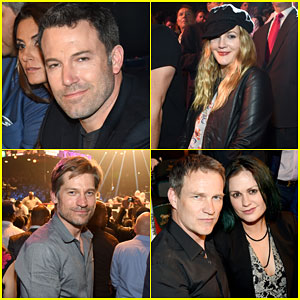 Ben Affleck & Drew Barrymore Sit Ringside at Mayweather Vs. Pacquiao