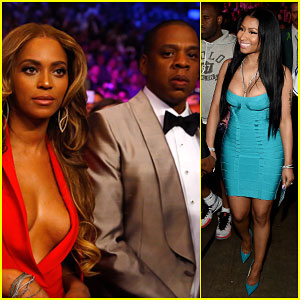 Beyonce & Jay Z Get Glam For Mayweather Vs. Pacquiao