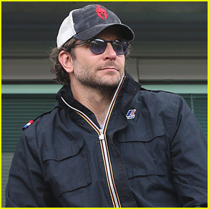 Bradley Cooper Checks Out Premier League Soccer Match