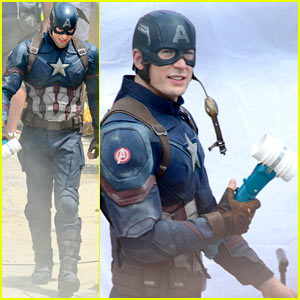 Captain America's New Weapon Is a...? Enter Our Poll!