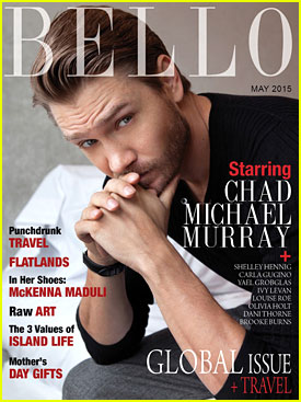 Chad Michael Murray Couldn't Be More Excited About Fatherhood
