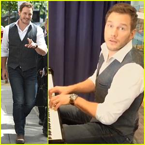 Chris Pratt's Piano Skills Are Pretty Great - Watch Now!