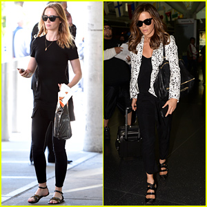 Emily Blunt & Kate Beckinsale Both Land in New York City!