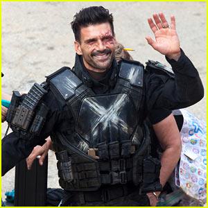 Frank Grillo Is Unmasked as Crossbones on 'Civil War' Set