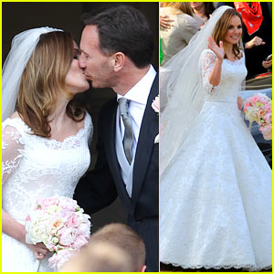 Geri Halliwell Is Married - See the Spice Girl's Wedding Photos