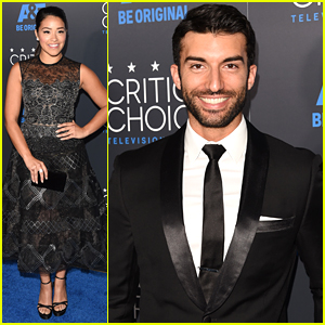 Gina Rodriguez & Justin Baldoni Bring 'Jane The Virgin' To Critics' Choice Television Awards 2015