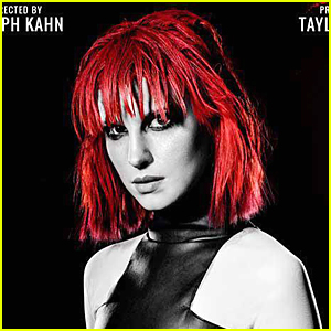 Hayley Williams Rocks Bright Red Hair in Taylor Swift's 'Bad Blood' Poster