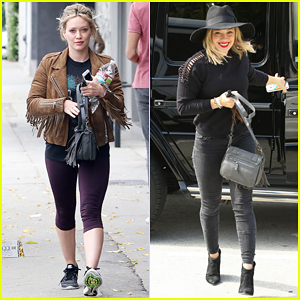 Hilary Duff Teases Her 'Sparks' Music Video - Watch Here!