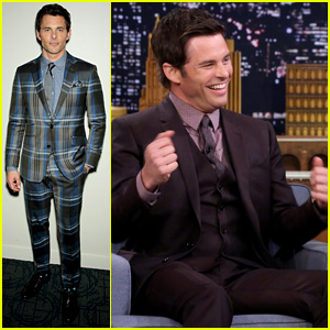 Jimmy Fallon Helps James Marsden Post His First Instagram Pic