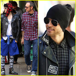 Jared Leto Takes a Break From 'Suicide Squad' to Hang With Terry Richardson