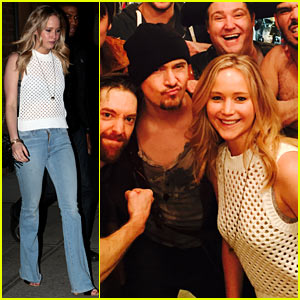 Jennifer Lawrence Meets the Pirates at 'Finding Neverland'