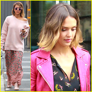 Jessica Alba Plays Quick Takes With Lauren Bush - Watch Here!