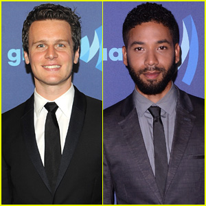 Jonathan Groff & Jussie Smollet Hit the GLAAD Media Awards
