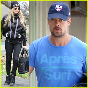 Josh Duhamel Plugs 'Battle Creek' Series Finale After Lunching With Fergie
