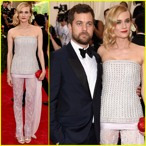 Joshua Jackson & Diane Kruger Are the Perfect Met Gala Couple