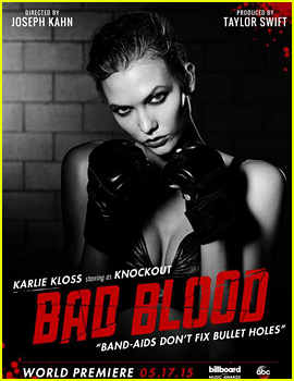 Karlie Kloss Joins Star-Studded Cast of Taylor Swift's 'Bad Blood' Video