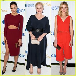 Katharine McPhee, Patricia Arquette, & Emily Wickersham Kick Off Summer at CBS Rooftop Soiree!