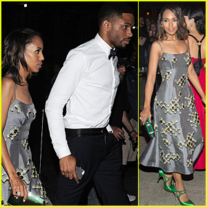 Kerry Washington & Hubby Nnamdi Asomugha Hit Met Gala After Party 2015