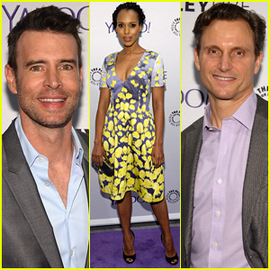 Kerry Washington & 'Scandal' Cast Steps Out for Paley Event After Season Finale