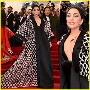 Lady Gaga Does Not Disappoint at Met Gala 2015