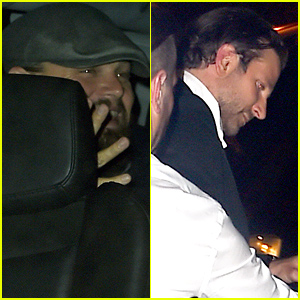 Leonardo DiCaprio & Bradley Cooper Leave the Met Gala 2015 After Party Together