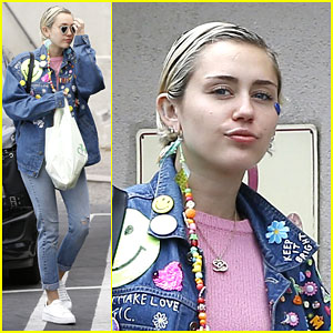 Miley Cyrus Jams Out to Spice Girls - Watch Here!