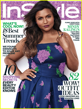 Mindy Kaling Talks Marriage & Kids in InStyle's June 2015 Issue