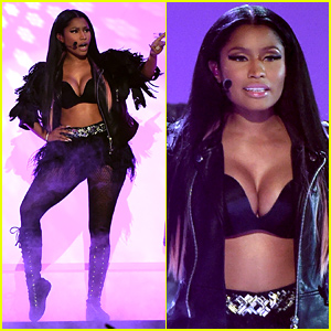 Nicki Minaj Performs 'Night Is Still Young' & 'Hey Mama' at Billboad Music Awards 2015 (Video)