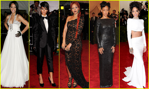 Rihanna's Ravishing Met Gala Looks Evolved Over the Years