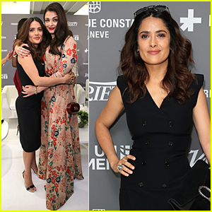 Salma Hayek Blasts Sexist Hollywood at Cannes UN Panel