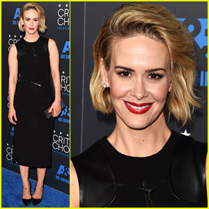 Sarah Paulson Wins Best Supporting Actress at Critics Choice TV Awards 2015!