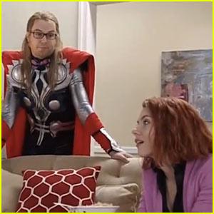 Scarlett Johansson Makes a Black Widow Rom-Com for 'SNL'