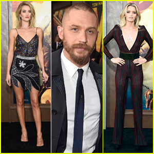 Tom Hardy & Rosie Huntington-Whiteley Premiere 'Mad Max: Fury Road' in Hollywood
