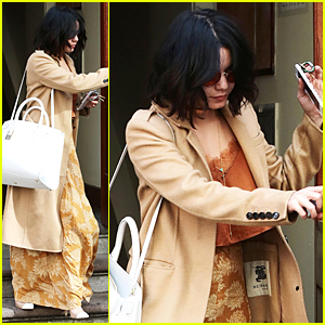 Vanessa Hudgens Celebrates International Dance Day & Nearly Loses Her Sunglasses!