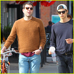 Zachary Quinto & Miles McMillan Spend Quality Time Together in NYC
