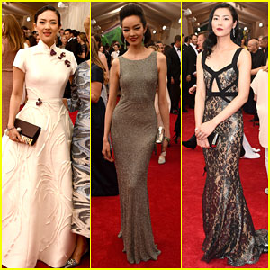 Ziyi Zhang & Liu Wen Get Stylish For Met Gala 2015