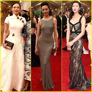 Ziyi Zhang & Liu Wen Get Stylish For Met Gala 2015