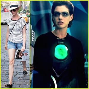 Anne Hathaway Channels Evil Villain in Joseph Gordon Levitt's 'Hit Record on TV' - Watch Clip Here!