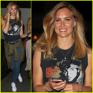 Bar Refaeli Hits Up U2 Concert After-Party in West Hollywood