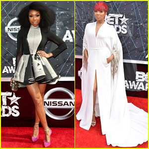 Brandy & Monica Step Out for the BET Awards 2015!