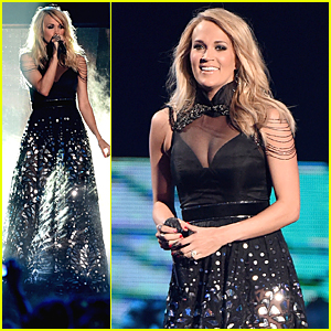 Carrie Underwood Performs 'Little Toy Guns' at CMT Music Awards 2015