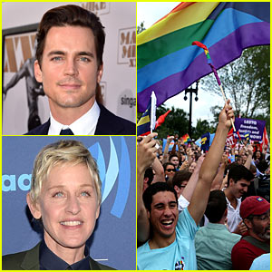 Celebs React to Supreme Court's Marriage Equality Decision