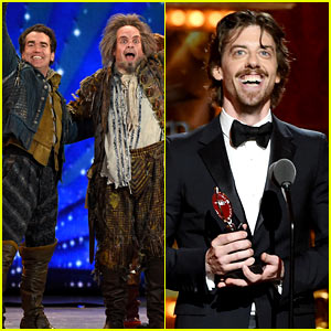 Christian Borle Wins at Tony Awards 2015 for 'Something Rotten'